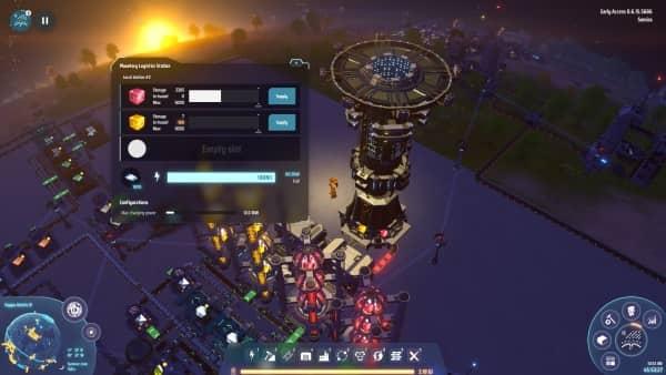 Dyson Sphere Program - Planetare Logistik-Station