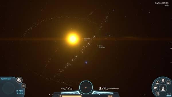 Dyson Sphere Program - Dyson Schwarm