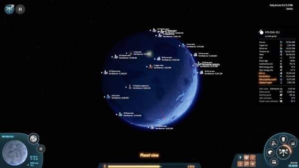 Dyson Sphere Program - Seltene Vorkommen