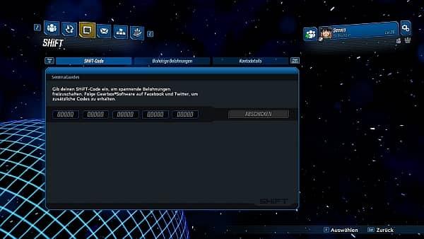 Borderlands 3 - SHIFT Account erstellen