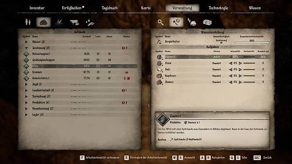 Medieval Dynasty - Bergarbeiter